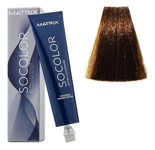 Крем-краска для волос Matrix Socolor Beauty №505G Золотистый светлый шатен 90 мл