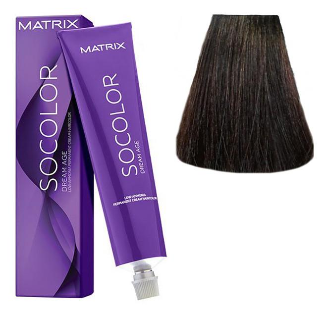 Крем-краска для волос Matrix Socolor Beauty №5BC Молочный шоколад светлый шатен 90 мл