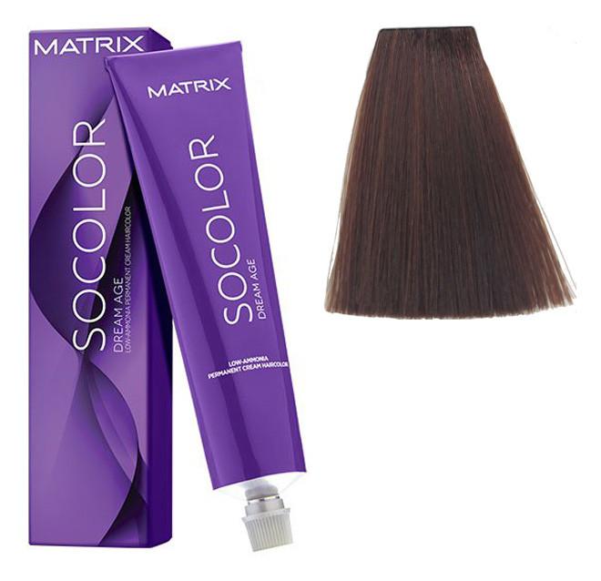 Крем-краска для волос Matrix Socolor Beauty №6M Темний блондин мокко 90 мл
