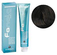 Крем-краска для волос Fanola №4/00 Intense medium chestnut 100 мл