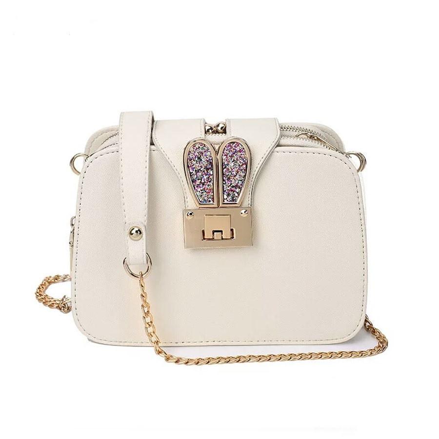 Женская сумочка Bunny Светло-бежевая (07-B)