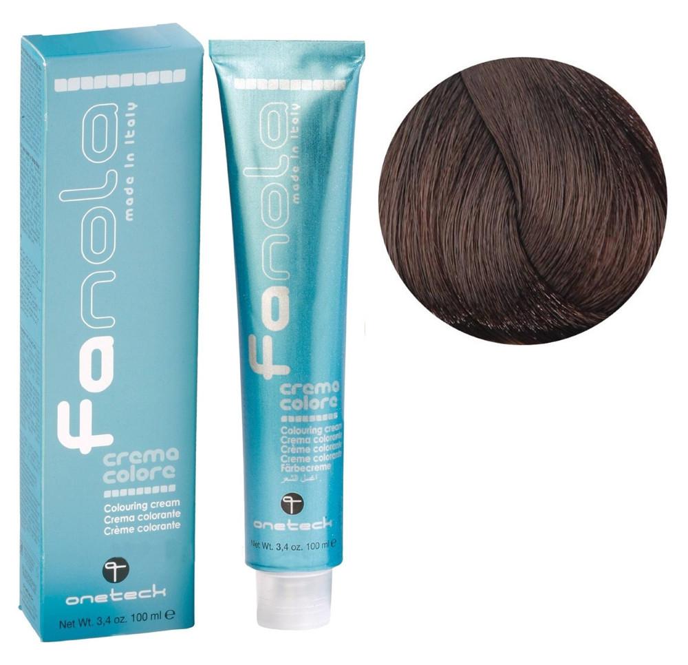 Крем-краска для волос Fanola №5/03 Warm light chestnut 100 мл