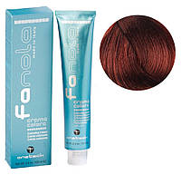 Крем-краска для волос Fanola №5/46 Light chesnut copper red 100 мл