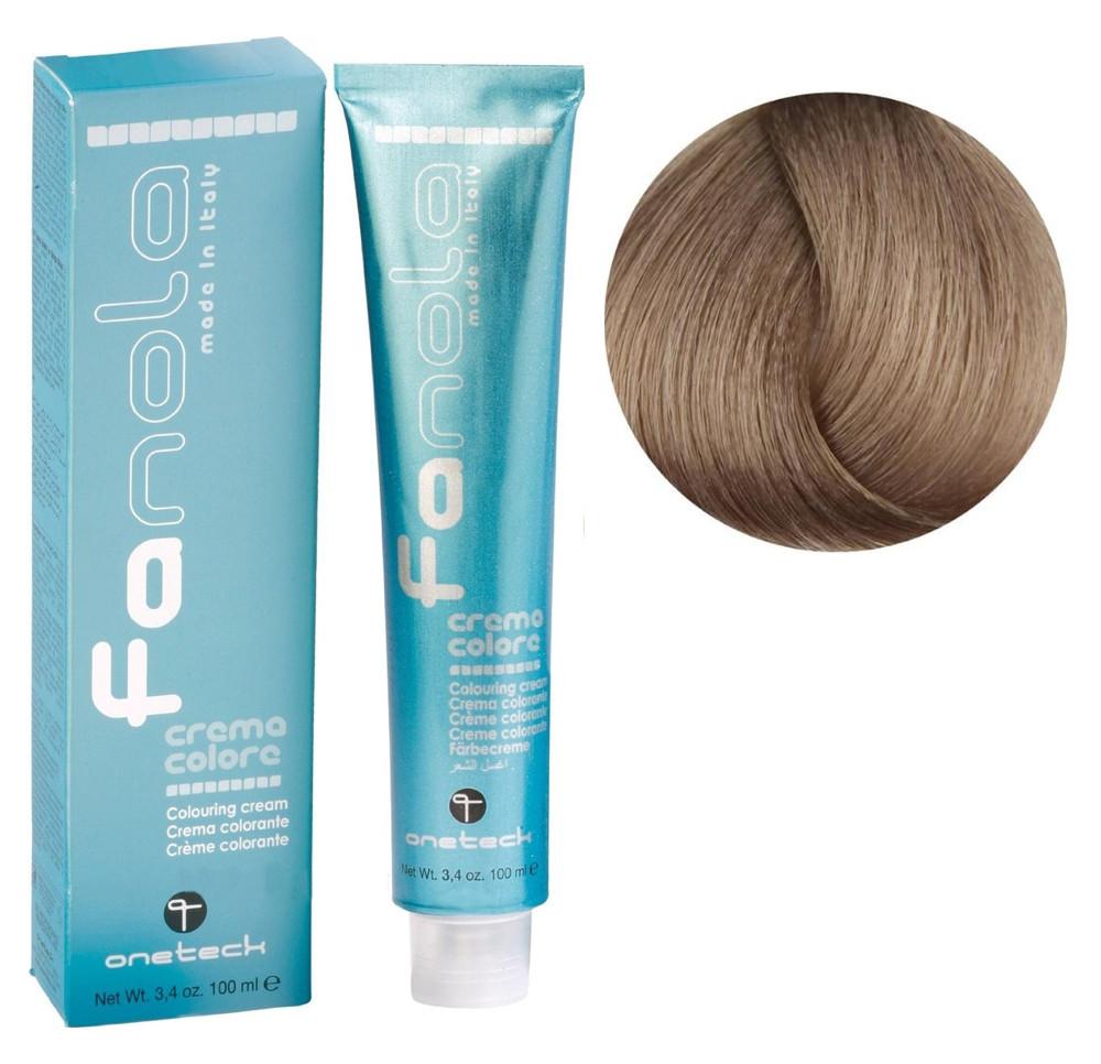 Крем-краска для волос Fanola №9/1 Very Light Blonde Ash 100 мл