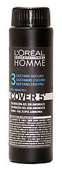 Камуфляж L'Oreal Professionnel темный шатен Homme Cover 5 (3), 3*50 мл