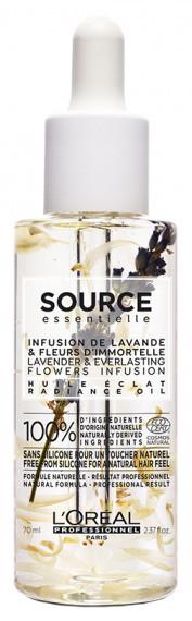 Масло для окрашенных волос L'Oreal Professionnel Source Radiance, 70 мл