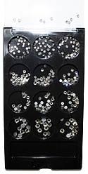 Набор камней для ногтей прозрачные (12шт * 1уп) А413