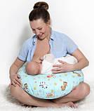 Подушка для годуючих мам, зірки на зеленому, фото 5