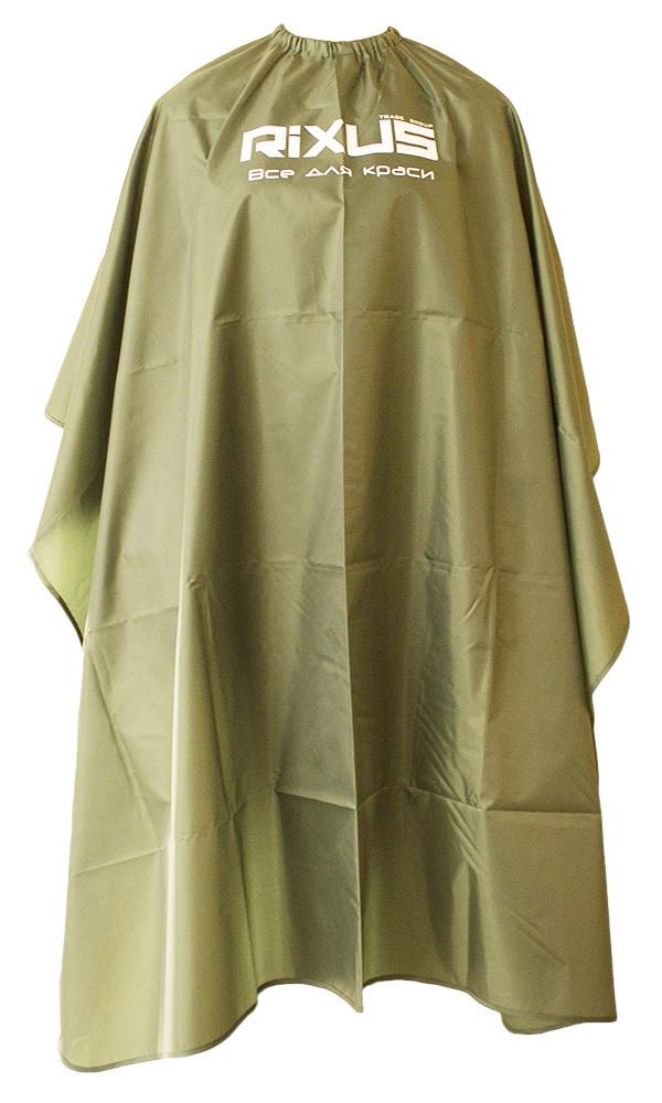 Пеньюар Rixus темно-зеленый, бабочка, ТФ. крючки