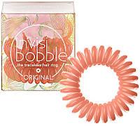 Резинки для волос  Invisibobble коралловые 3 шт