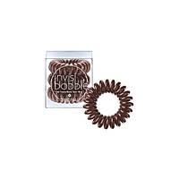 Резинки для волос Invisibobble коричневые 3 шт