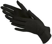 Перчатки виниловые Vian M черные 100 шт