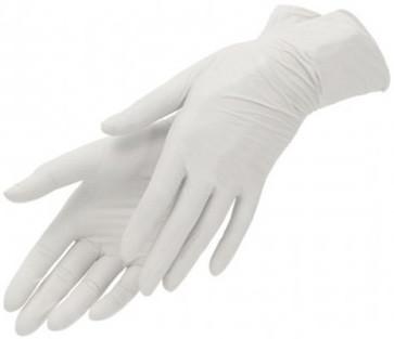 Перчатки виниловые М 100 шт
