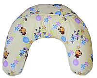 Подушка для кормящих мам, винни на светлом фоне