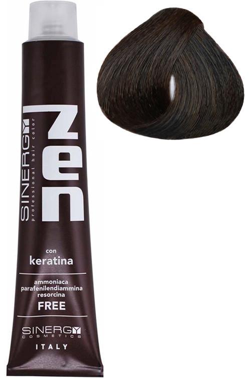 Безаммиачная крем-краска для волос Sinergy №5/1 Пепельный светлый каштан 100 мл