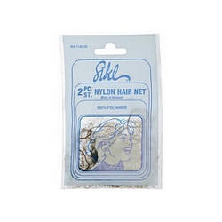 Cеточка-паутинка для волос Sibel черная 2 шт