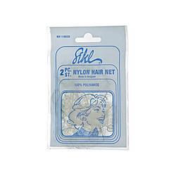 Cеточка-паутинка для волос Sibel белая 2 шт