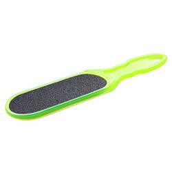 Пластиковая терка для стоп, зеленая Staleks 100/180, АС 10/1