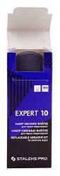 Набор сменных файлов для терки педикюрный Staleks DFE-10-180 30 шт