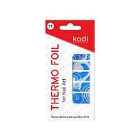 Термо фольга для дизайна ногтей Kodi Professional №001