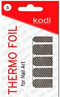 Термо фольга для дизайна ногтей Kodi Professional №003