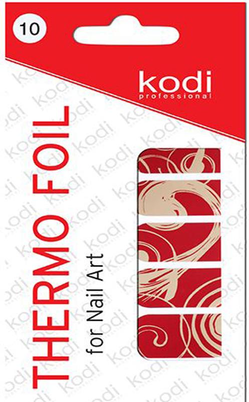 Термо фольга для дизайна ногтей Kodi Professional №010