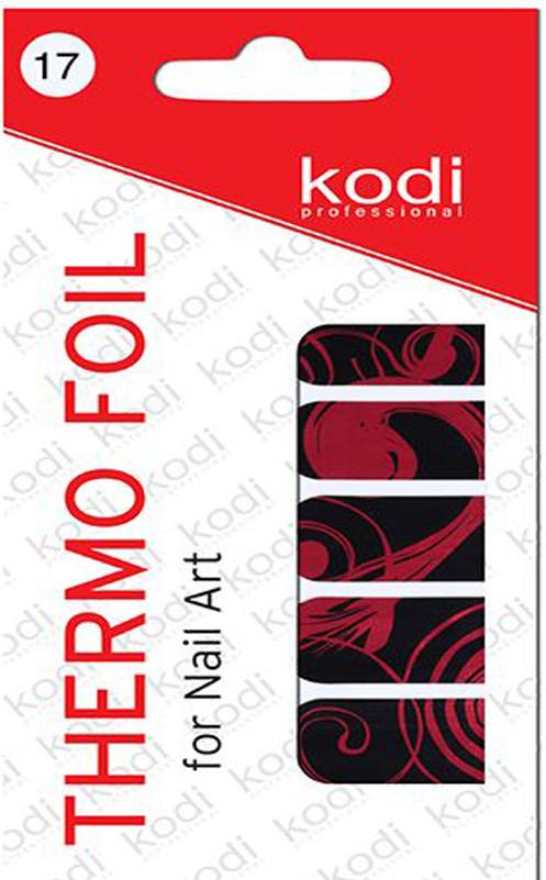Термо фольга для дизайна ногтей Kodi Professional №017