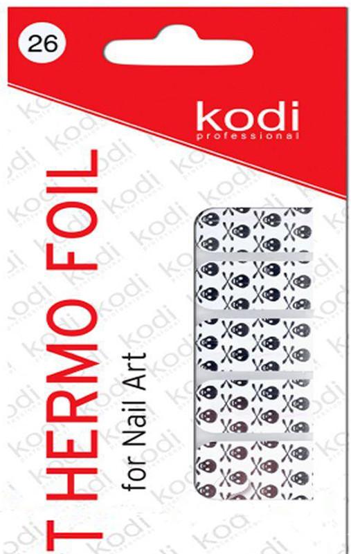 Термо фольга для дизайна ногтей Kodi Professional №026