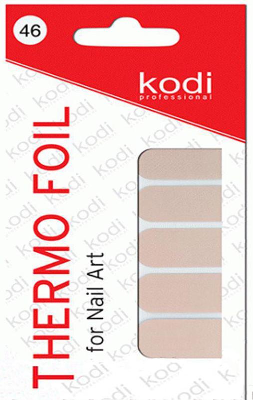 Термо фольга для дизайна ногтей Kodi Professional №046