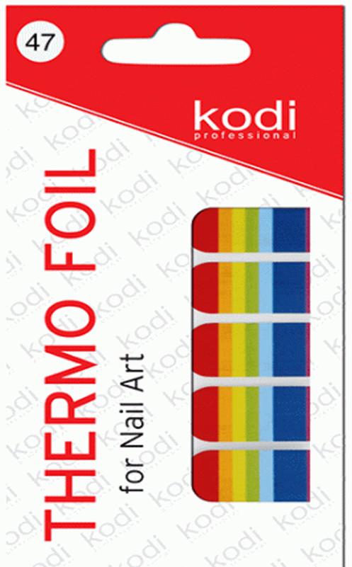 Термо фольга для дизайна ногтей Kodi Professional №047