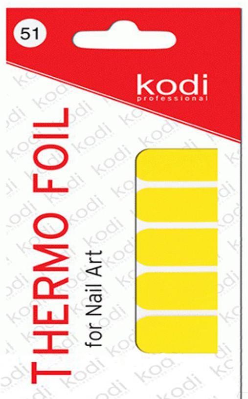 Термо фольга для дизайна ногтей Kodi Professional №051