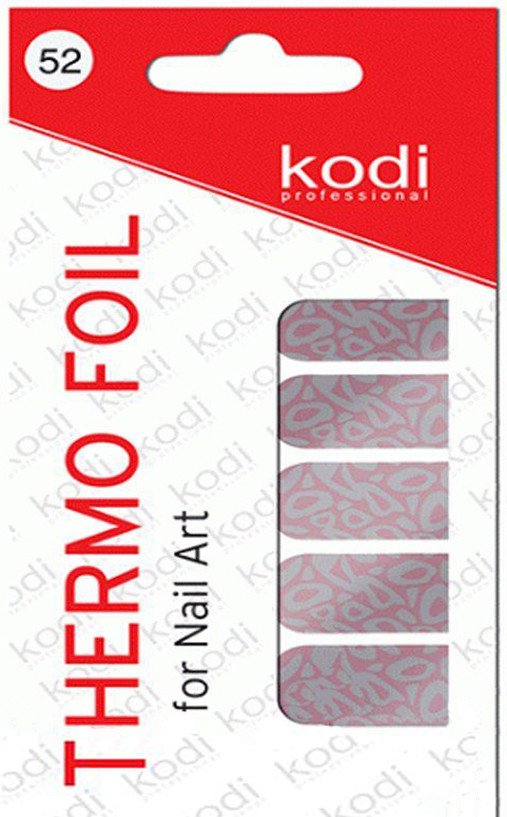 Термо фольга для дизайна ногтей Kodi Professional №052
