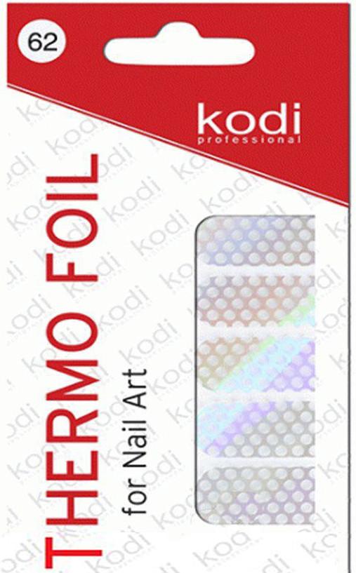Термо фольга для дизайна ногтей Kodi Professional №062