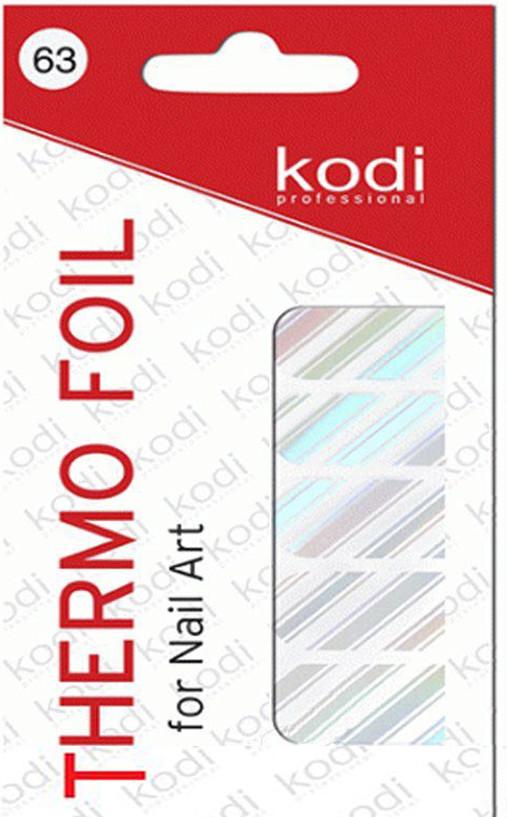 Термо фольга для дизайна ногтей Kodi Professional №063