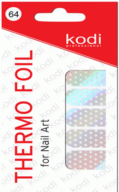 Термо фольга для дизайна ногтей Kodi Professional №064