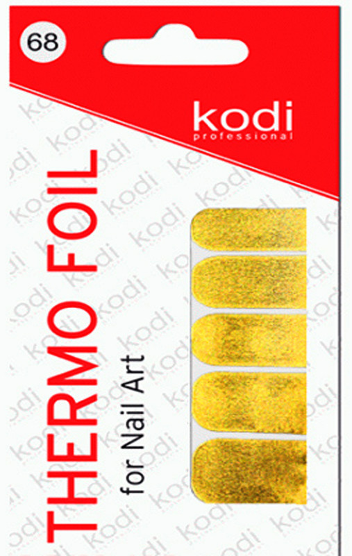 Термо фольга для дизайна ногтей Kodi Professional №068