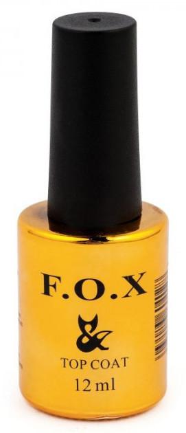 Топовое покрытие для гель-лака F.O.X Top Coat 12 мл