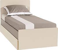 Кровать одноместная с плоской спинкой 2piR
