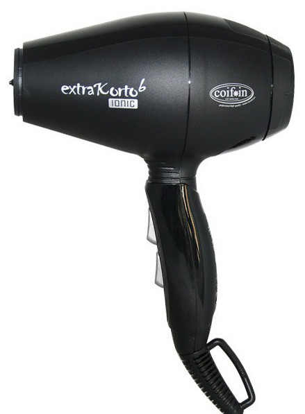Фен для волос Coifin Extra Korto 6 Ionic черный 1800-2000W