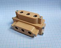 Кондуктор П-образный под ДСП 18мм. / шаблон мебельный под шкант или конфирмат