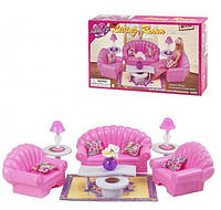 Мебель для игрушек Gloria Глория гостиная 9704