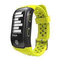 Фитнес браслет Smart Band SiMax S908 с GPS Зеленый (SBS908GR)