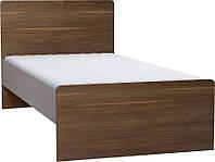 Одноместная кровать с плоским изголовьем 2piR