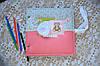 Детский фотоальбом с чистыми листами скрапальбом для девочки альбом для творчества фотоальбом, фото 3