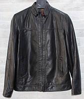 """Куртка чоловіча модна RHENOCEROS кожзам, розміри 48-58 """"JOKER"""" купити недорого від прямого постачальника"""