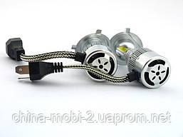 Car LED C6++ H4 H L COB 5500Lm, светодиодные автомобильные лампы основного света, фото 3