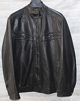 """Куртка чоловіча демісезонна RHINOCEROS кожзам батал, р. 60-70 """"JOKER"""" купити недорого від прямого постачальника"""