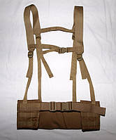 Жилет разгрузочно-поясная система (РПС) песок (койот)