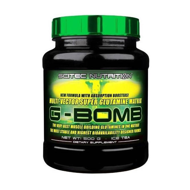 Глютамин G-Bomb 2.0 (308 g, ice tea) Scitec Nutrition
