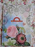 Щоденник Найрозумніший «Рожеві квіти» т/п. мат.ламинац.+УФлак, фото 6